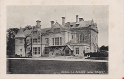 746  -  Beaulieu Palace, New Forest
