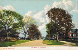 1777  -  The Road to Lyndhurst