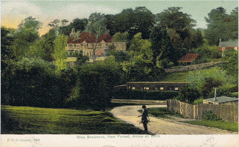 Miss Braddons New Forest Home at Bank