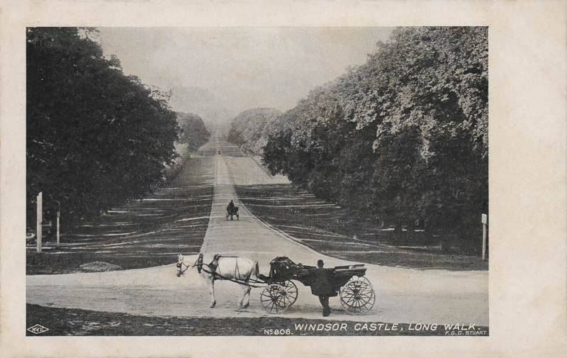 Windsor Castle, Long Walk