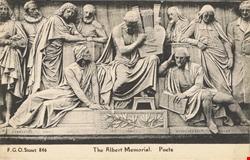 846  -  The Albert Memorial, Poets