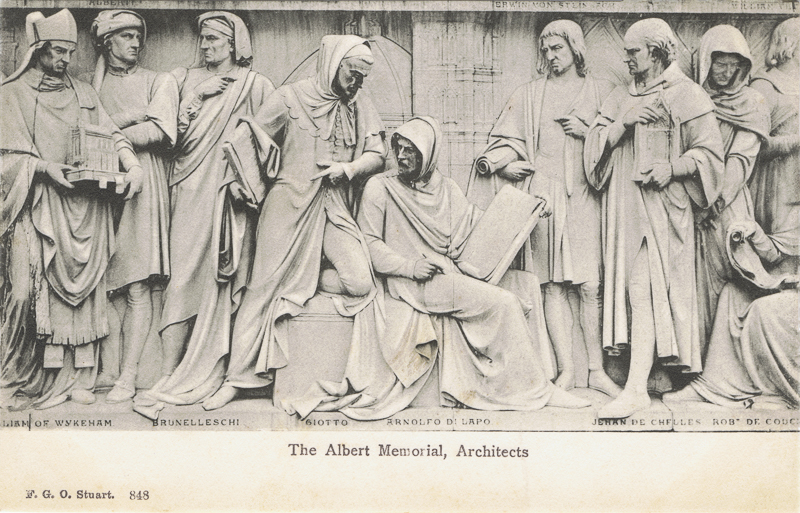 The Albert Memorial, Architects