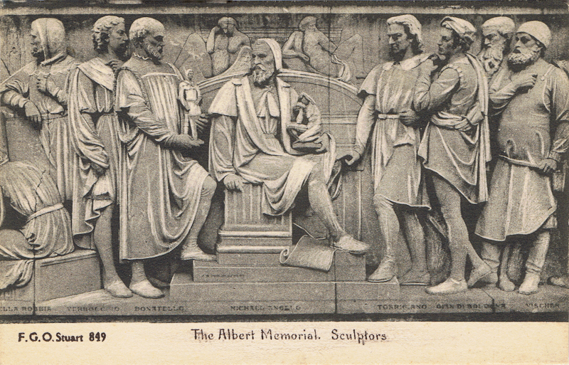 The Albert Memorial, Sculptors