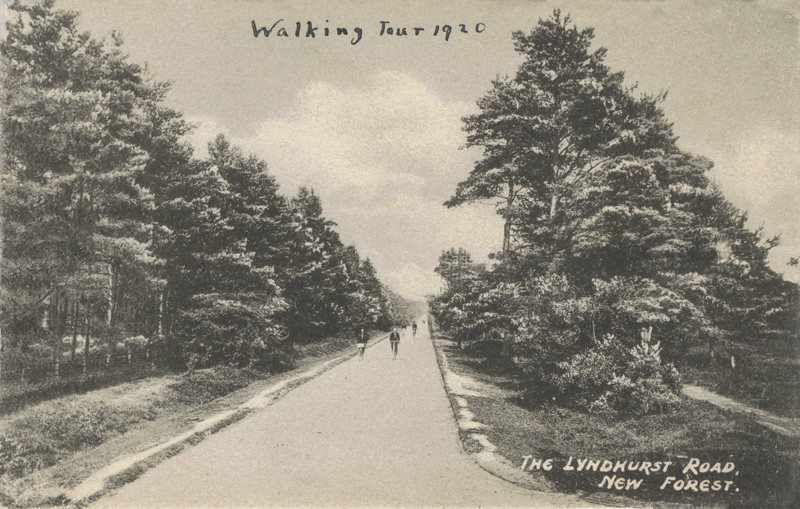 The Lyndhurst Road, New Forest