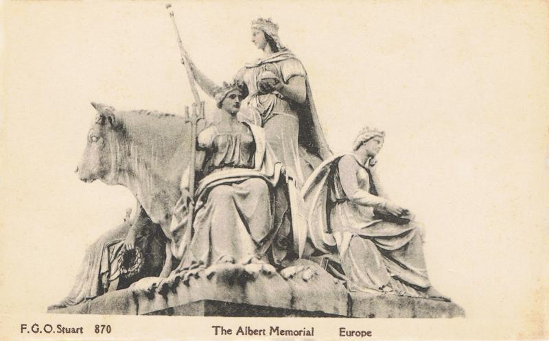 The Albert Memorial, Europe