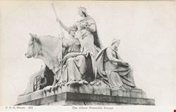 870  -  The Albert Memorial, Europe