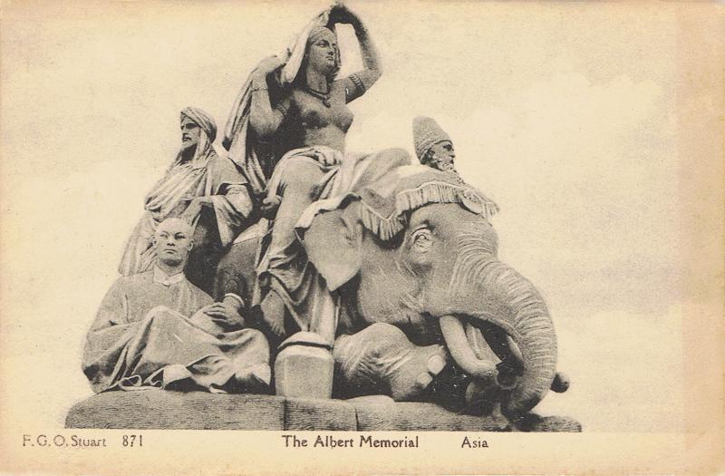 The Albert Memorial, Asia