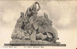 871  -  The Albert Memorial, Asia