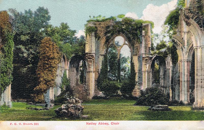 Netley Abbey, Choir