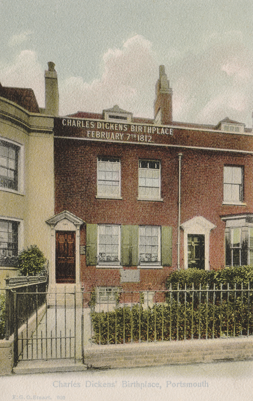 Charles Dickens' Birthplace, Portsmouth