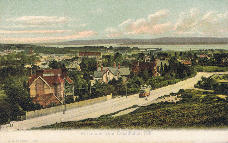 926  -  Parkstone from Constitution Hill