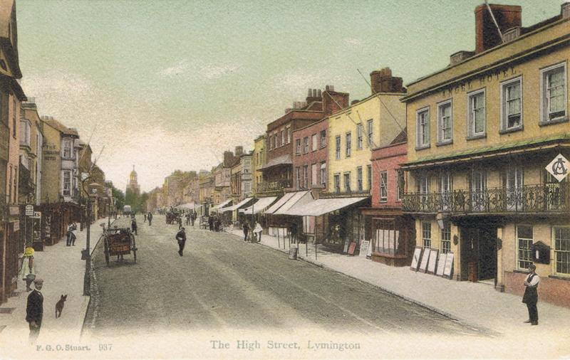 The High Street, Lymington