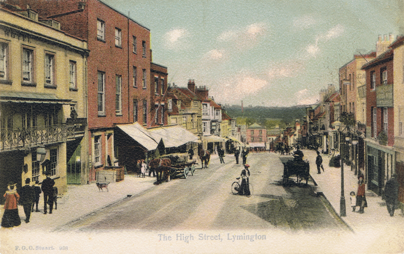 The High Street, Lymington