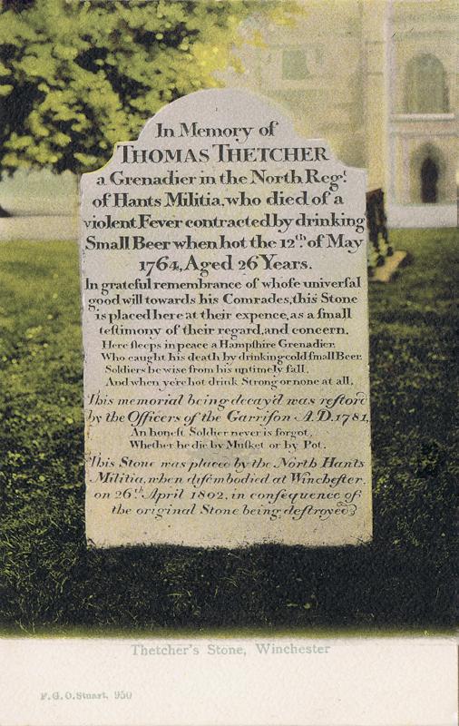 Thetcher's Stone, Winchester