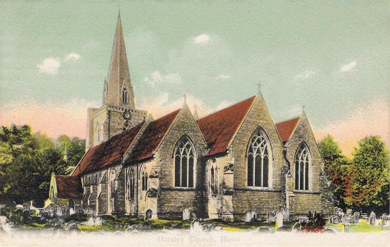Hursley Church, Hants