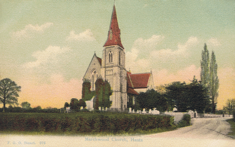 979  -  Marchwood Church, Hants.
