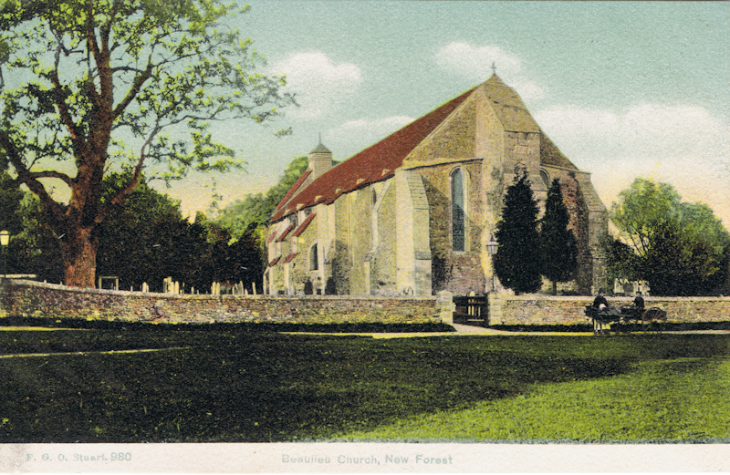 Beaulieu Church, New Forest