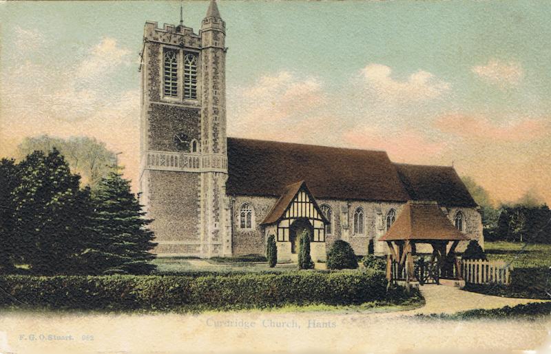 Curdridge Church, Hants