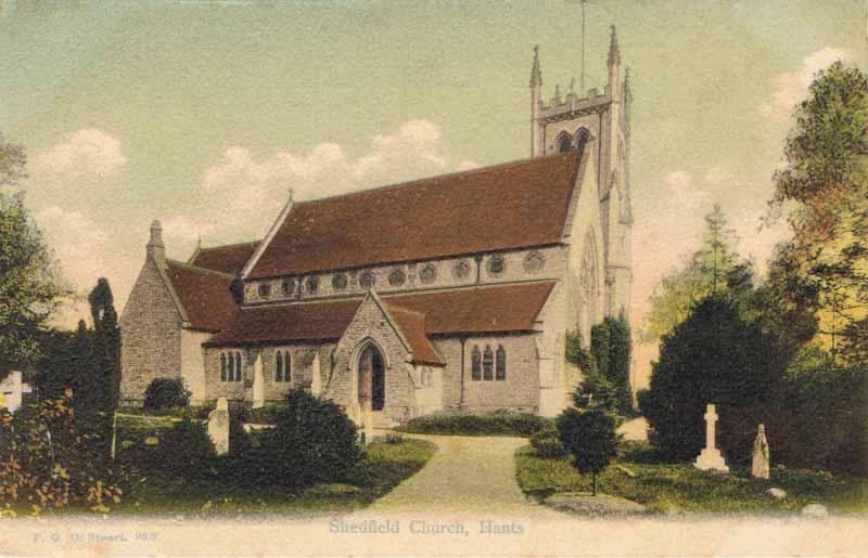 Shedfield Church, Hants