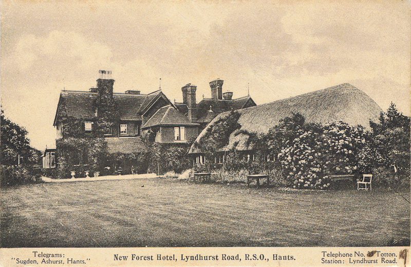 New Forest Hotel, Lyndhurst Road, R.S.O., Hants