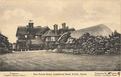 New Forest Hotel, Lyndhurst Road, R.S.O., Hants