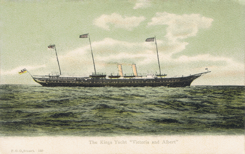 "The King's Yacht ""Victoria and Albert"""