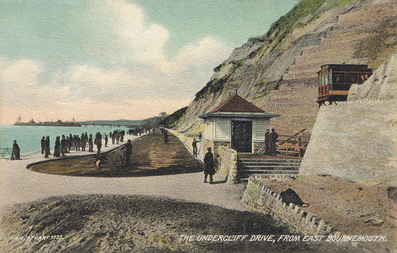 The Undercliff Drive, From East Bournemouth