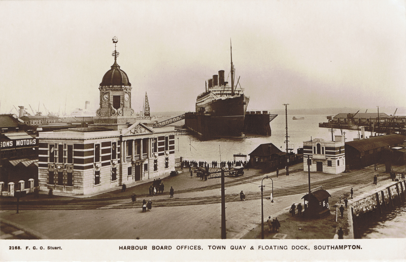 Harbour Board Offices, Town Quay & Floating Dock, Southampton