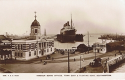2168  -  Harbour Board Offices, Town Quay & Floating Dock, Southampton