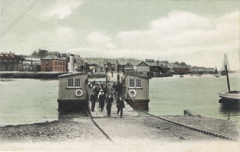 Floating Bridge, Cowes, I.W.