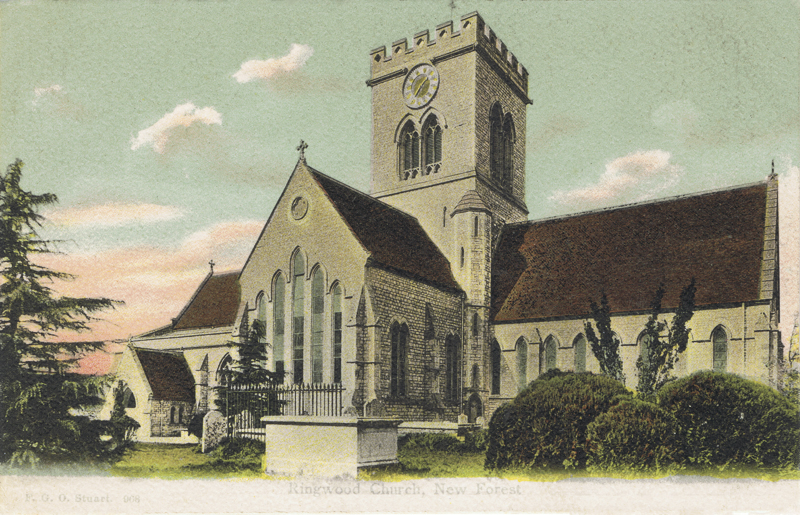 Ringwood Church, New Forest