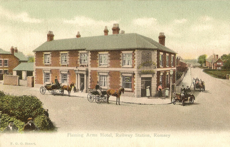 Fleming Arms Hotel, Railway Station, Romsey