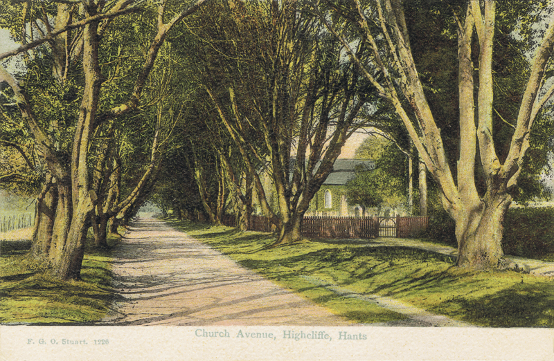 Church Avenue, Highcliffe, Hants