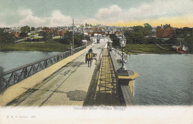 Bitterne from Cobden Bridge