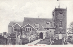 1694  -  Minstead Church, New Forest