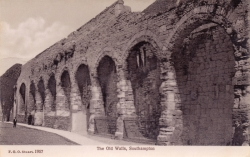1957  -  The Old Walls, Southampton