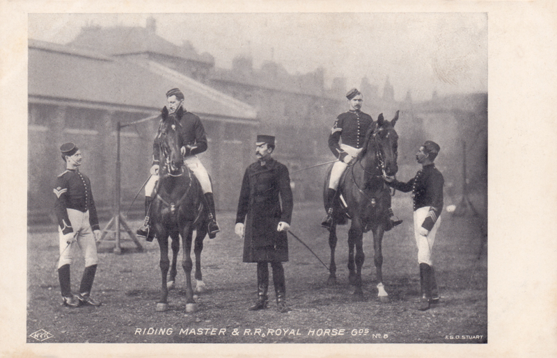 Riding Master & R.R Royal Horse Gds