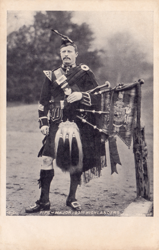 Pipe-Major, 93rd Highlanders