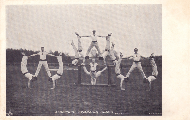 Aldershot Gymnasia Class