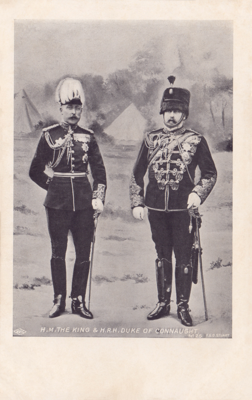 H.M. The King & H.R.H. The Duke of Connaught