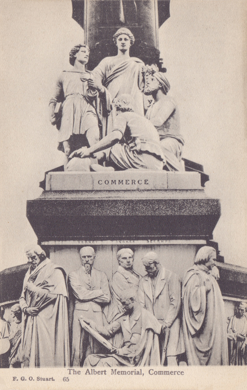 The Albert Memorial, Commerce