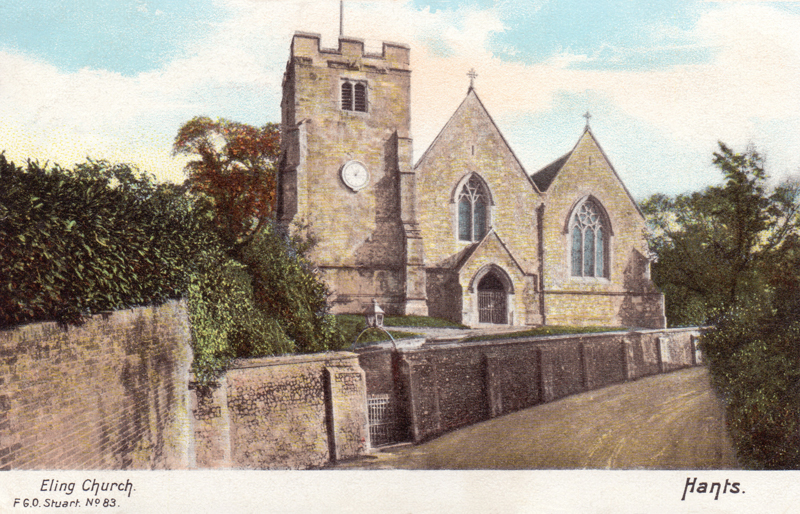 Eling Church, Hants