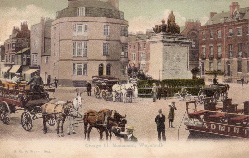 George III. Monument, Weymouth