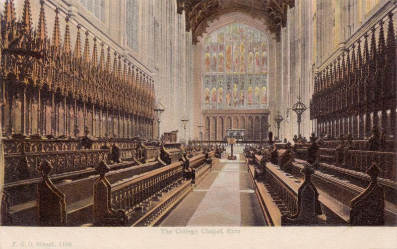 The College Chapel, Eton