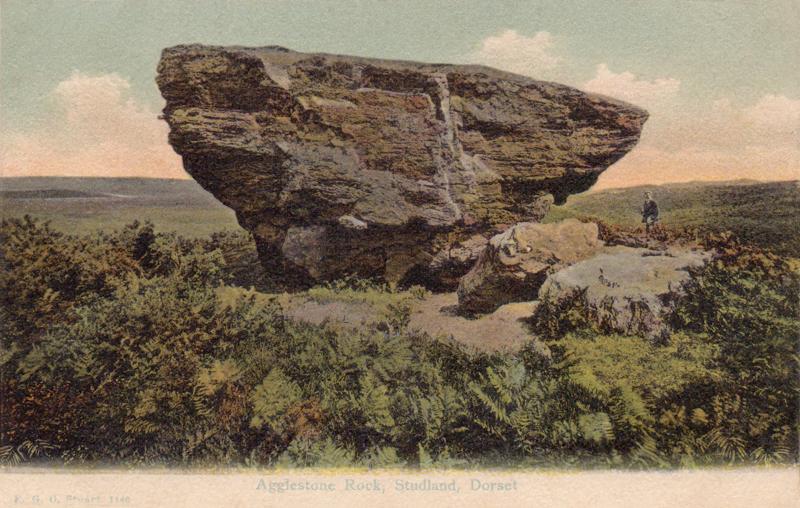 Agglestone Rock, Studland, Dorset