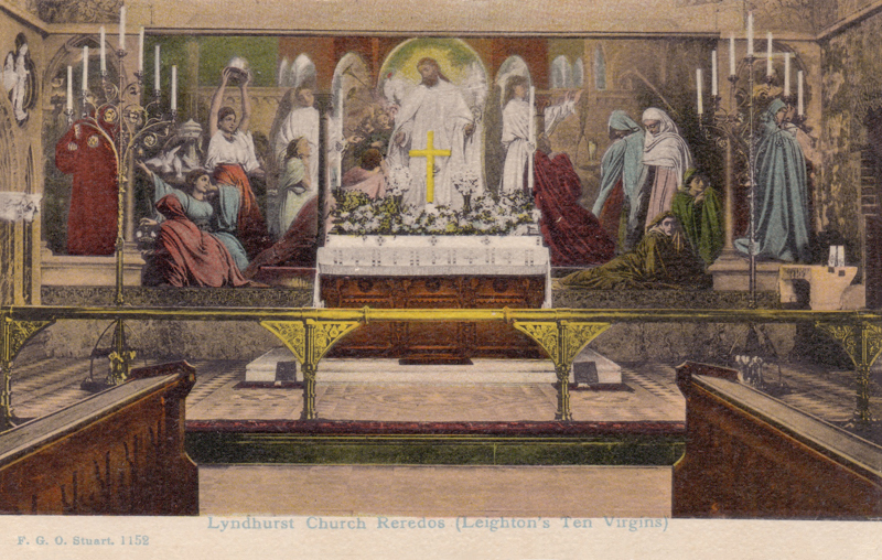Lyndhurst Church Reredos (Leighton's Ten Virgins)