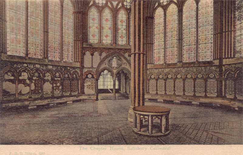 The Chapter House, Salisbury Cathedral