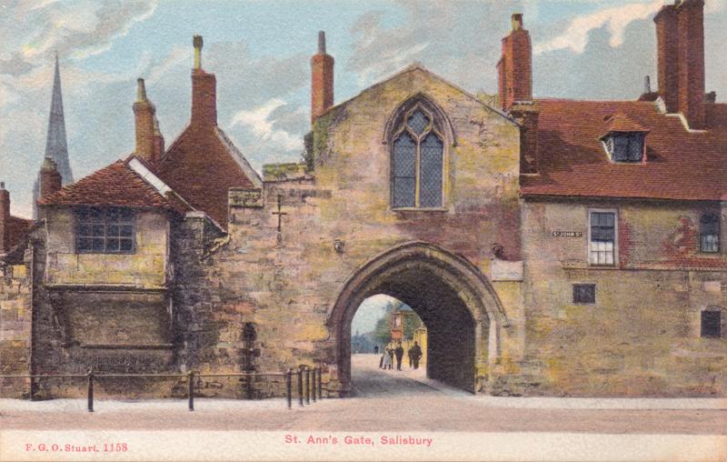 St Anns Gate. Salisbury