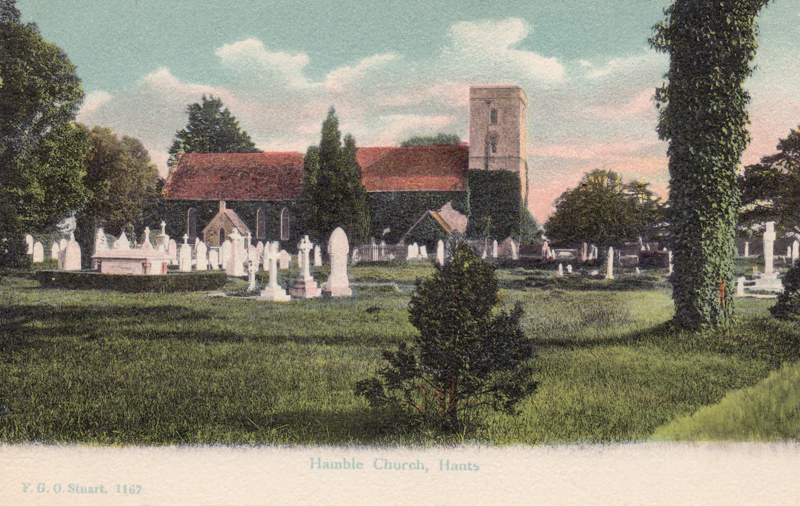 Hamble Church, Hants