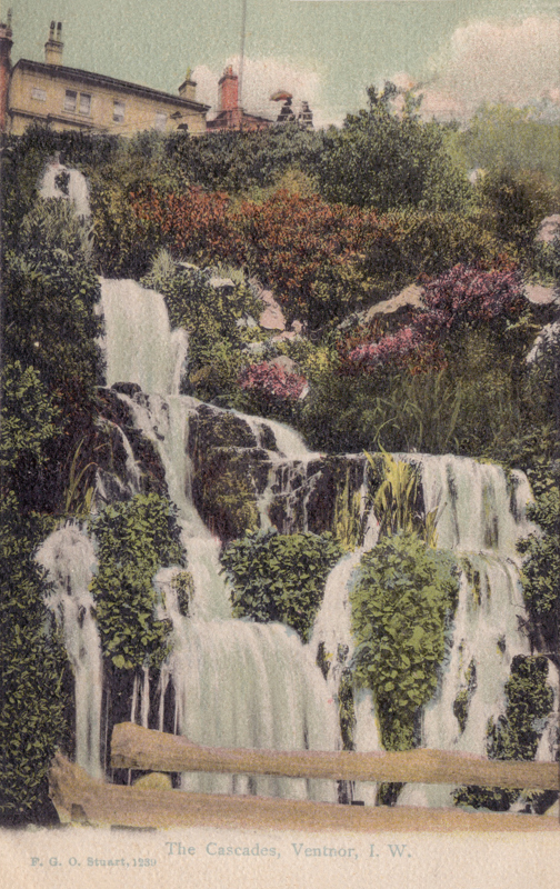 The Cascades, Ventnor. I.W.